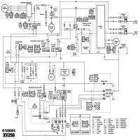 pin diagrama yamaha xv250 on pinterest