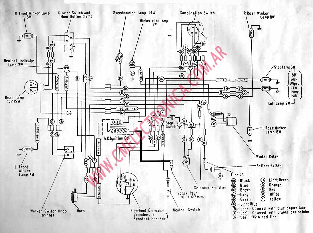 Kazuma Cdi Ignition Wiring Diagram Will Be A Thing Honda Chinese 110cc Atv Coil 6 Wire Box