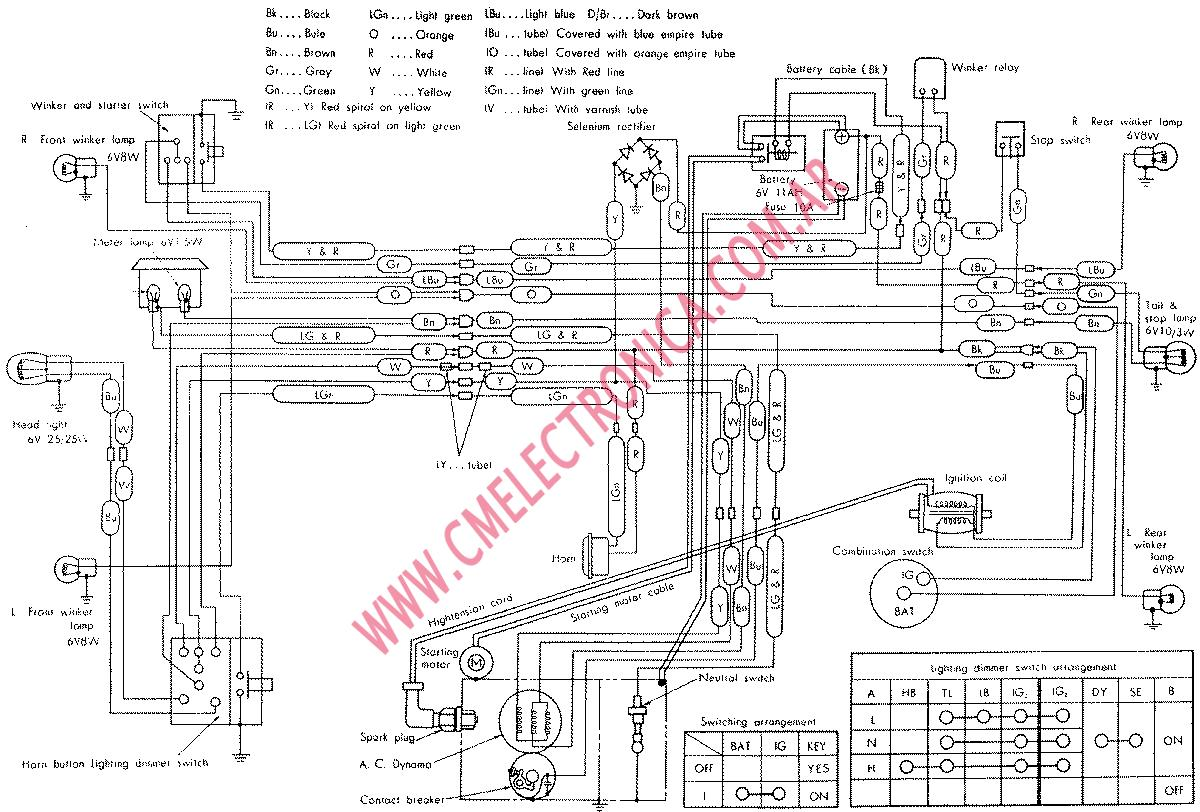 Honda Cb750 Ignition Wiring Diagram Will Be A Thing Ct70 Clymer Electrical 50 Trim Free Engine Image For 1978 Cb750k Simple Harness