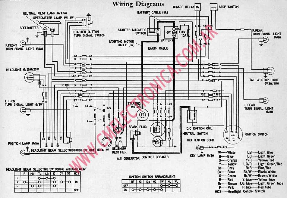 Honda C M on Xr650r Wiring Diagram