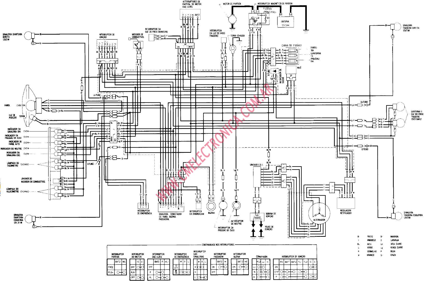 diagrama honda cb400n superdream 92 honda civic chassis wiring diagram