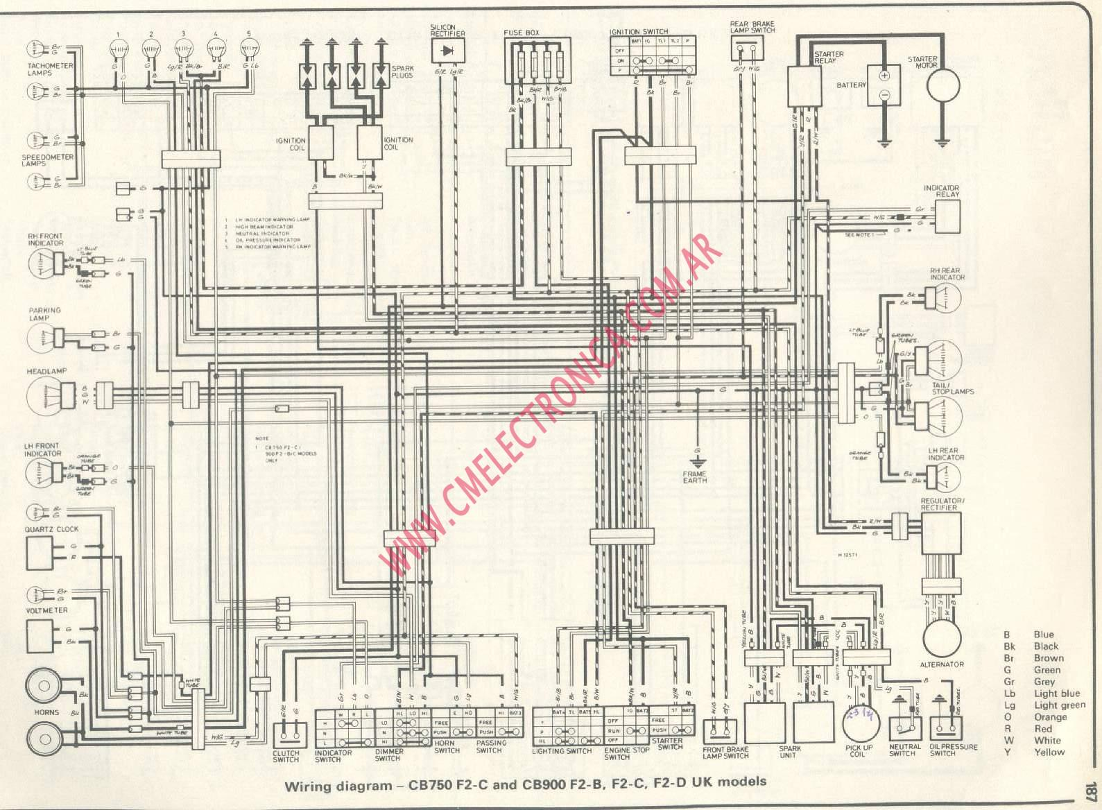 1981 Cb900 Wiring Diagram - Free Download Wiring Diagram
