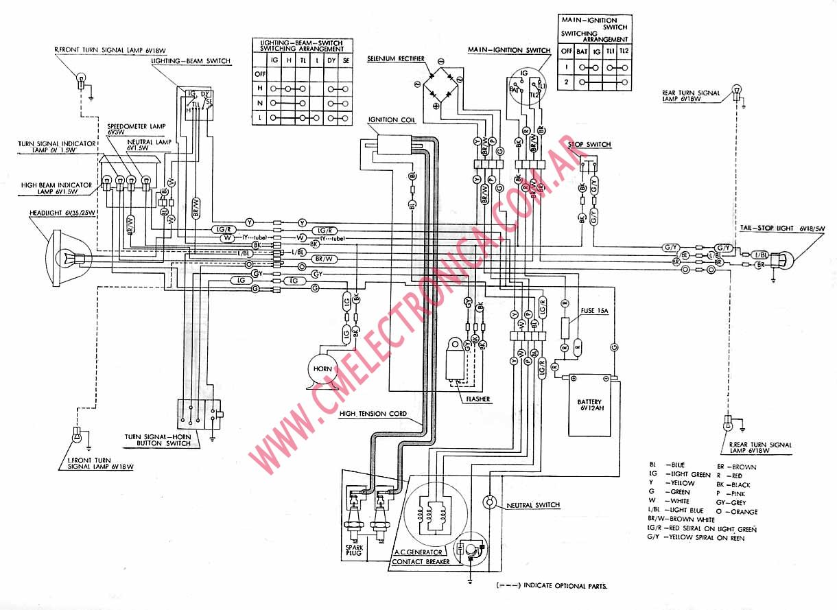 1978 honda ct90 wiring diagram 1978 honda ct90 parts 1956 International  Pickup Wiring Diagram International 4700 Wiring Diagram PDF