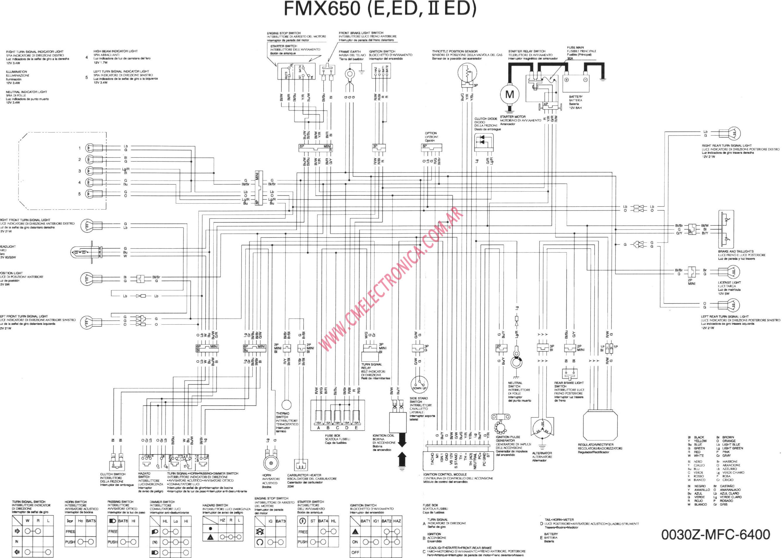 honda fmx650 2004 honda accord changing starter the alternator tested Ignition Switch Wiring Diagram at n-0.co