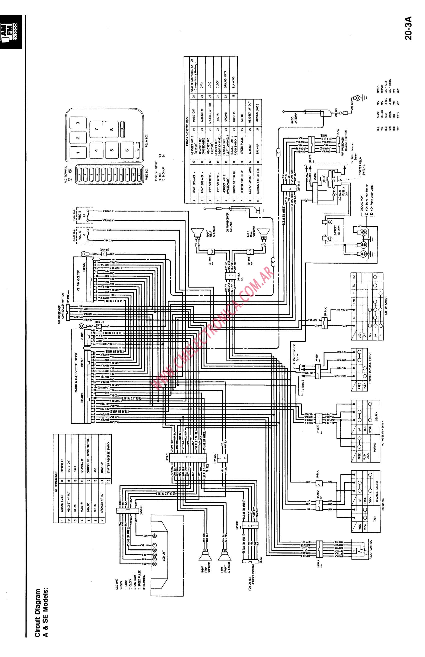 honda gl1500 97 yzf wiring diagram sincgars radio configurations diagrams Basic Electrical Wiring Diagrams at aneh.co