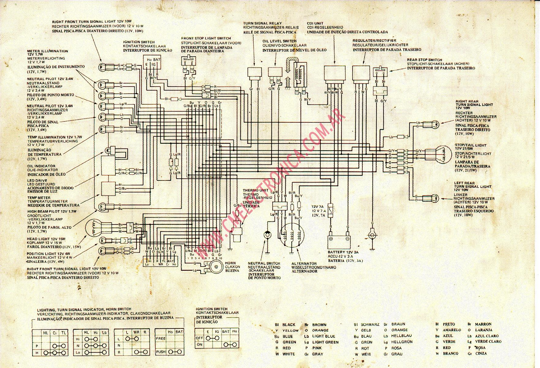 honda-mbx50  Suzuki Wiring Diagram on gsx1300ra, lt230e,