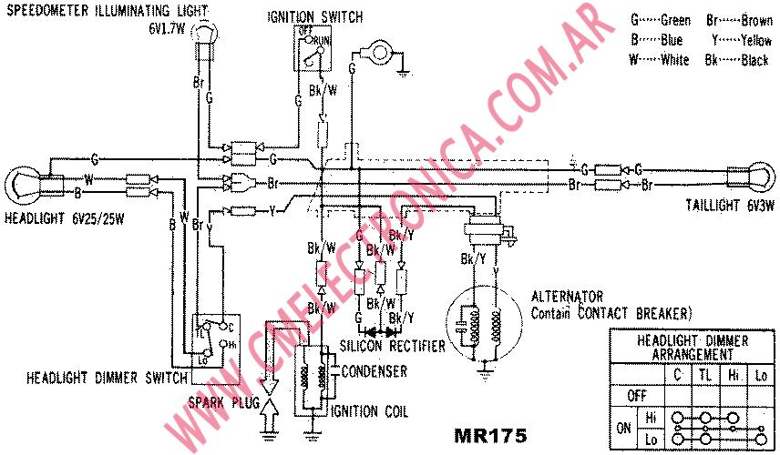 Honda Mr175 Coil Circuit  Rectification Confusion - Honda Trail