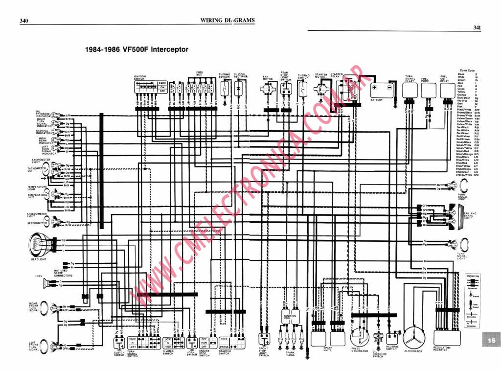 Honda Vf500 Wiring Diagram