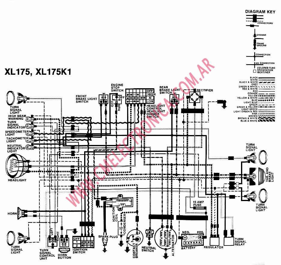 xl600r wiring diagram