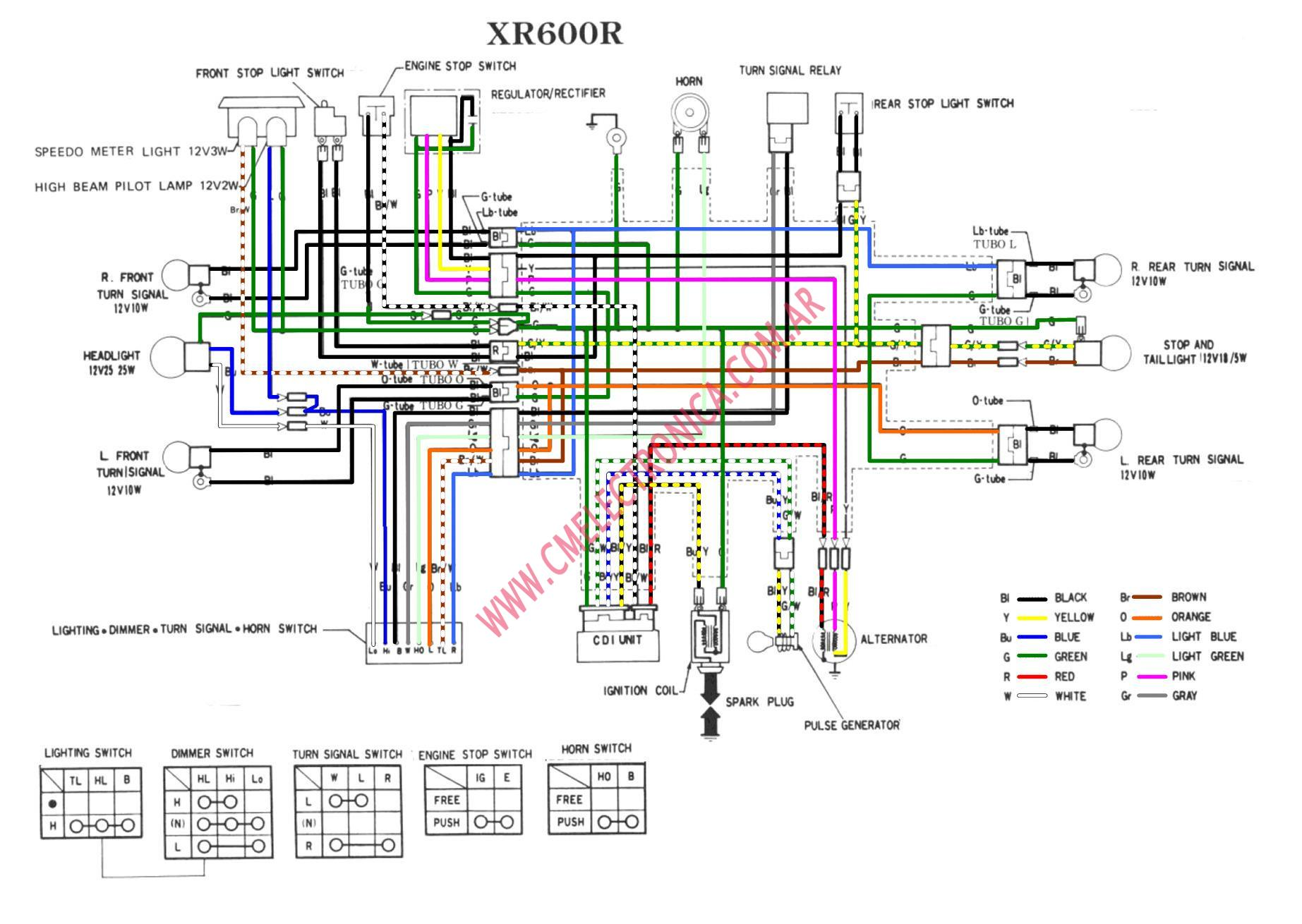 honda xr600 honda xr 250 wiring diagram xr200r 1990 headlight wiring diagram 1978 honda xl 125 wiring diagram at readyjetset.co