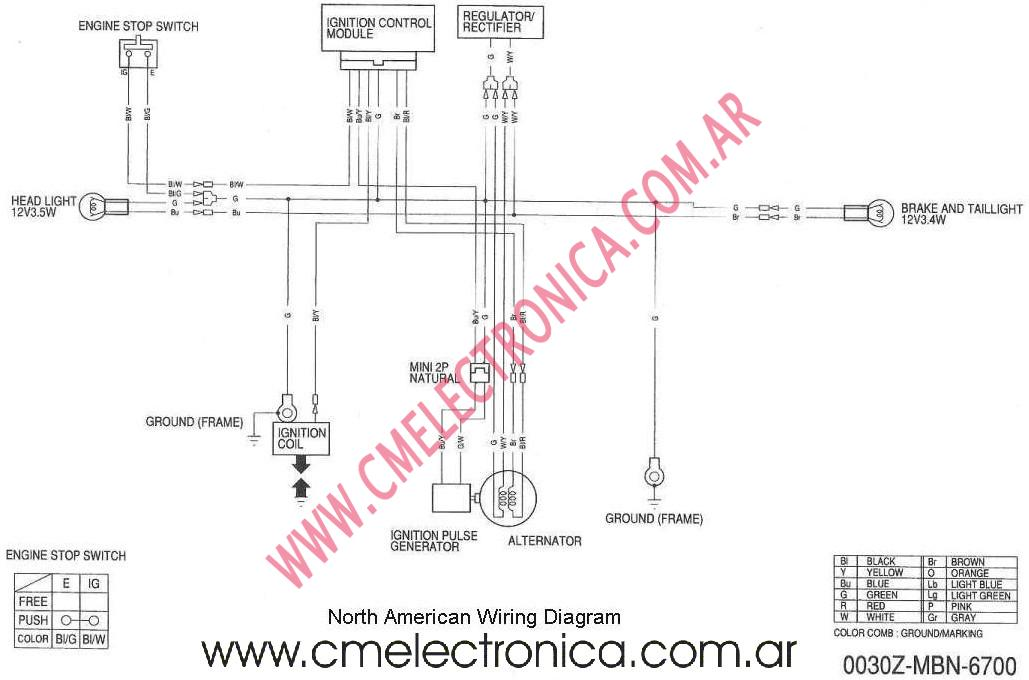 xr650r wiring diagram