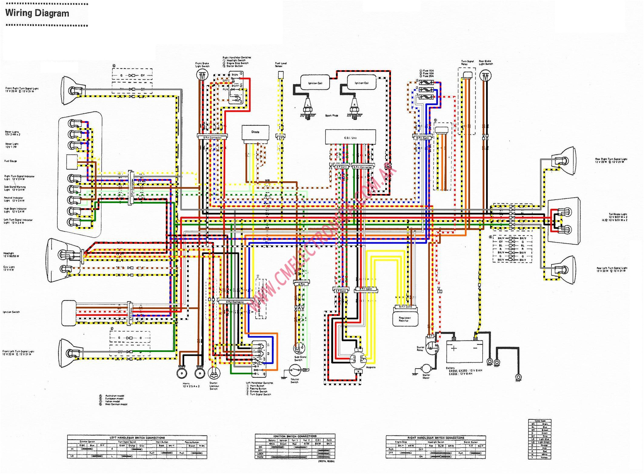 Wiring Diagram Ninja Rr : Kawasaki ninja ignition wiring diagram ktm