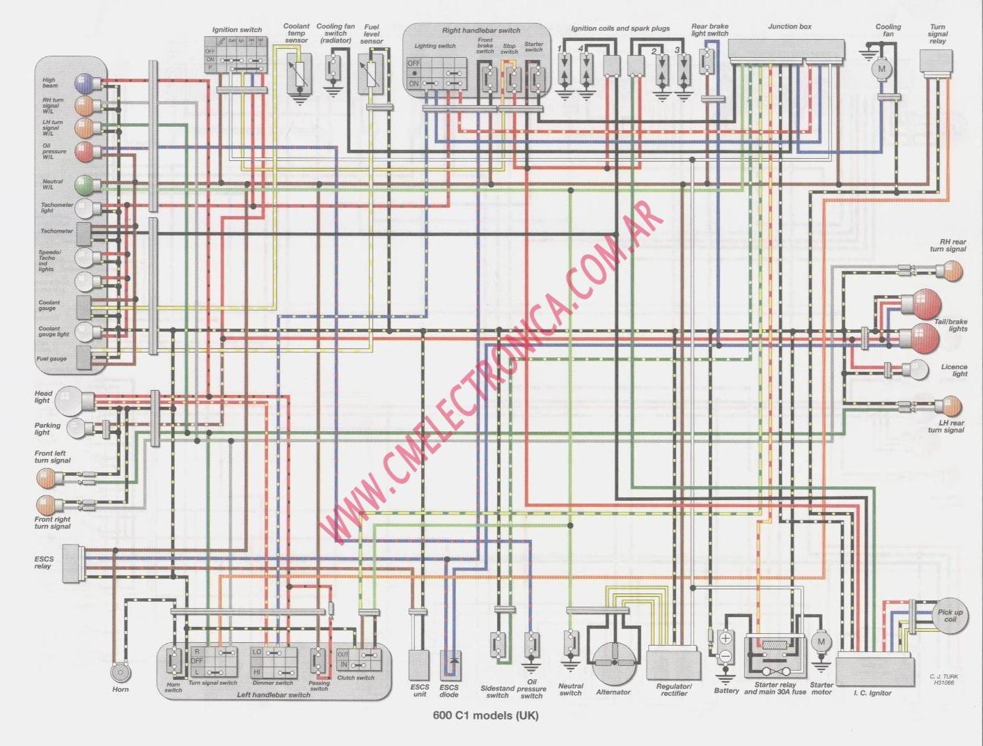 virago 1100 wiring diagram ignition starter switch diagram