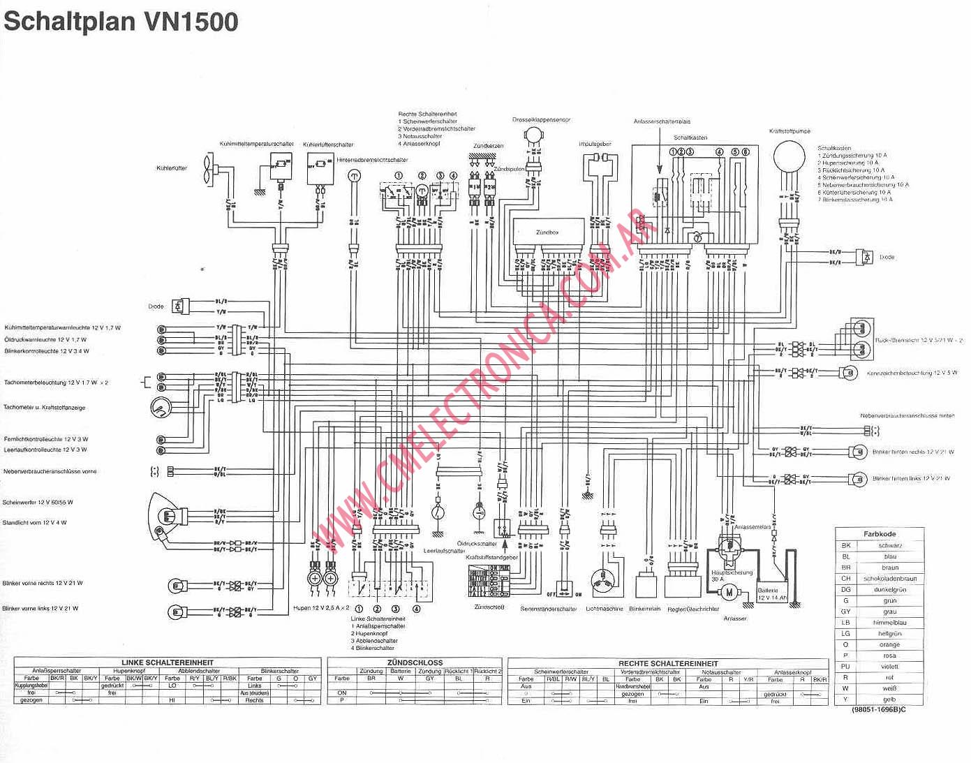Kawasaki Vn1500d on wiring diagram yamaha xt225