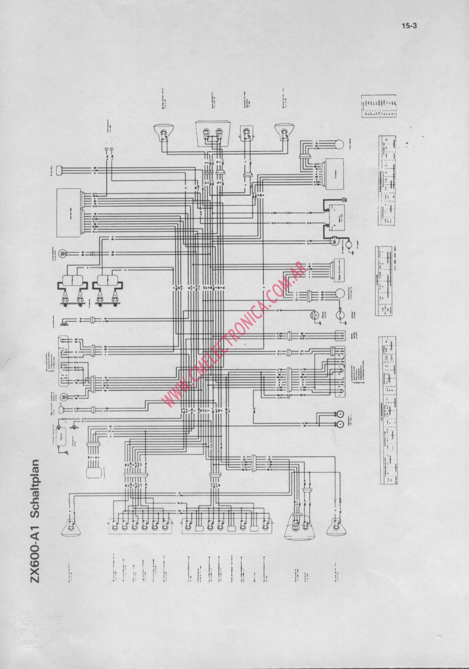 Diagram  1985 Kawasaki Ninja 600 Wiring Diagram Schematic Full Version Hd Quality Diagram