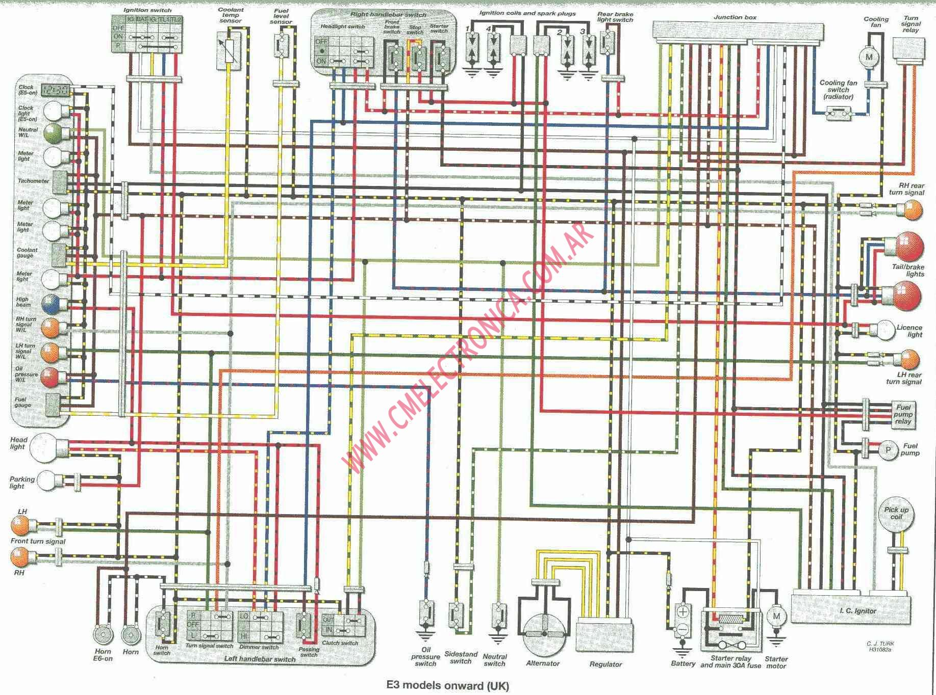kawasaki-zzr600_99-on Honda Cb Wiring Diagram on honda 450r wiring diagram, honda atv wiring diagram, honda 185s wiring diagram, honda elite 80 wiring diagram, honda c 200 wiring diagram,