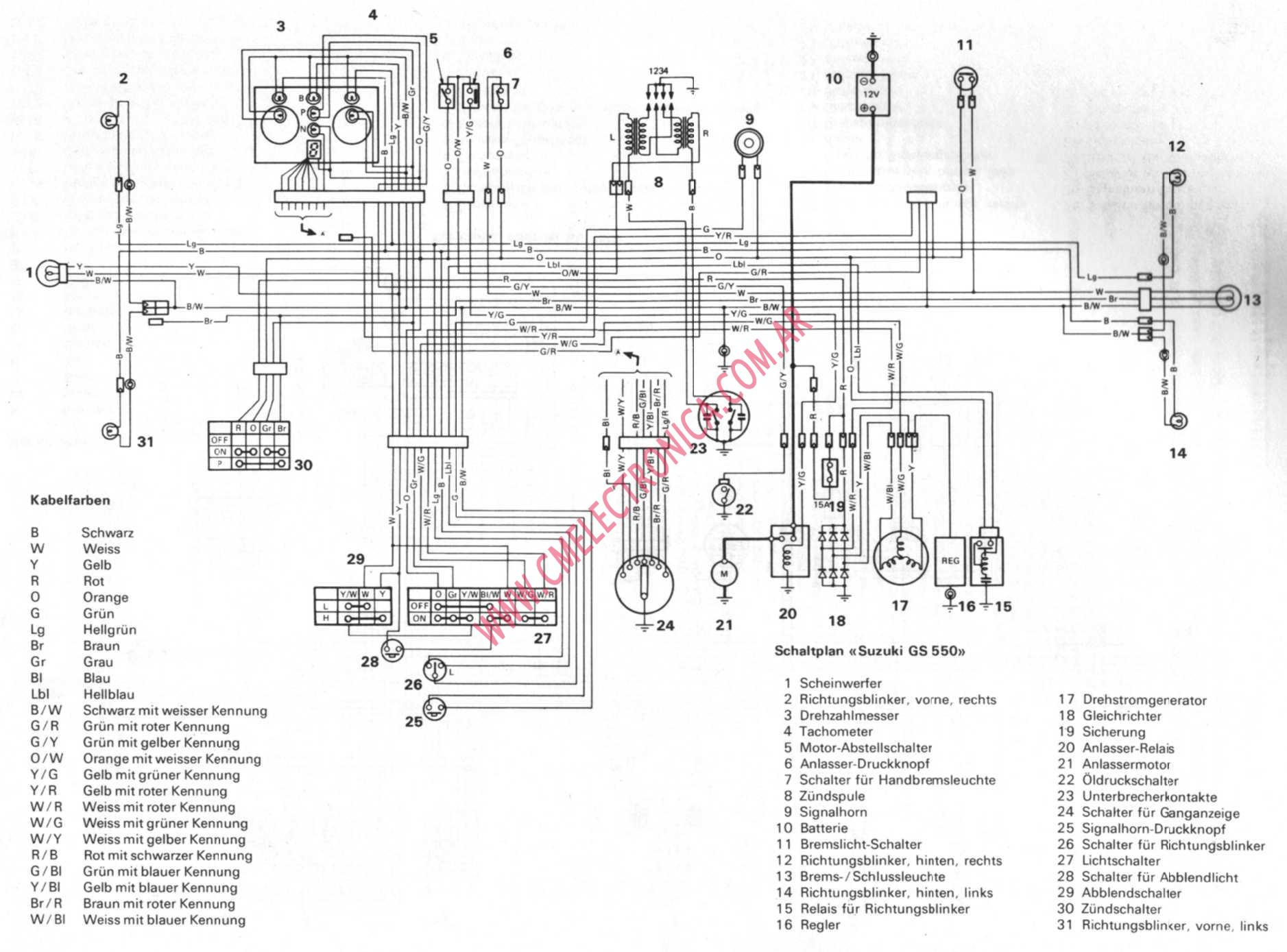 suzuki gs550 suzuki gs 550 wiring diagram suzuki boulevard wiring diagram  at reclaimingppi.co