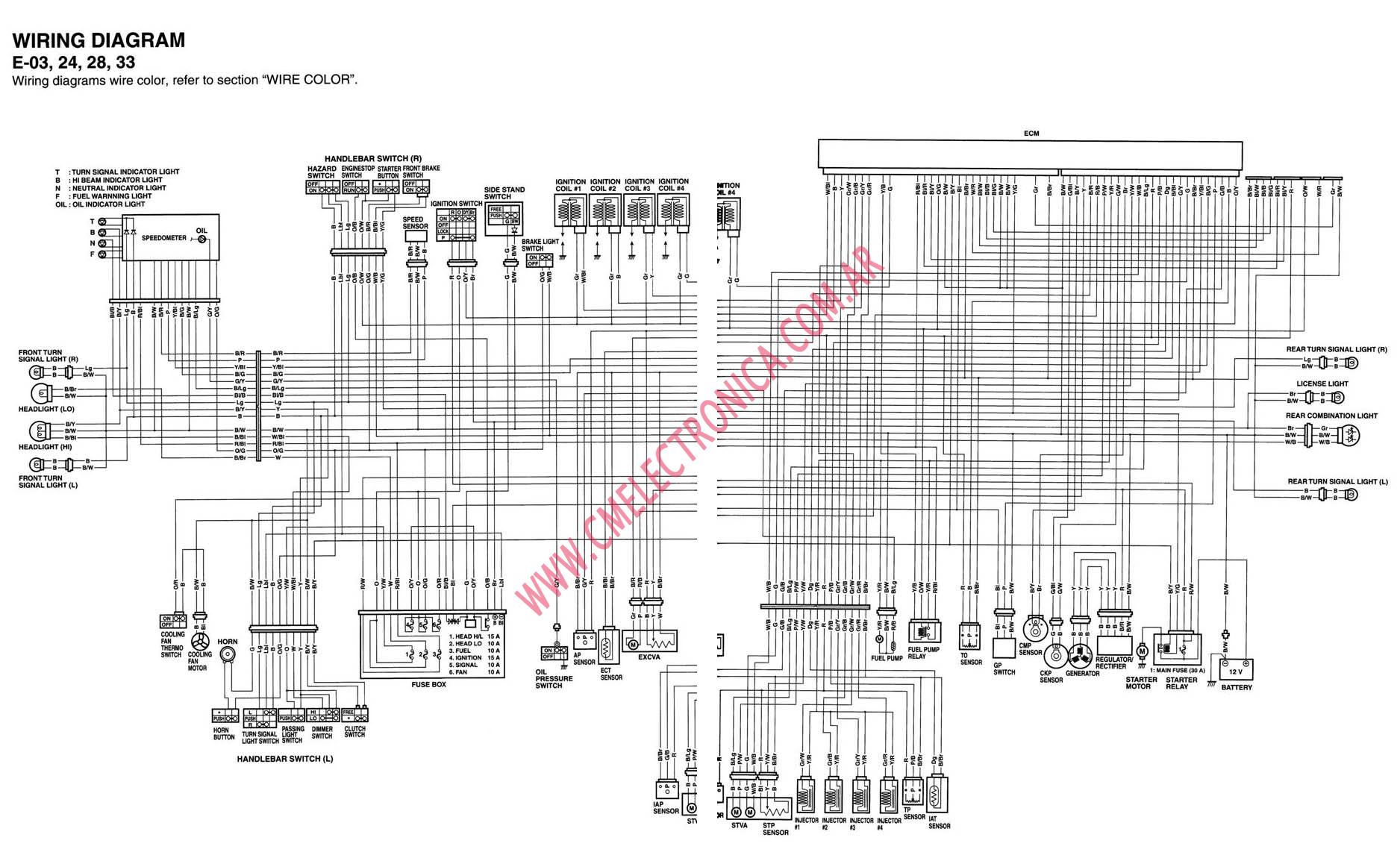 07 gsxr 750 wiring diagram 07 free engine image for user