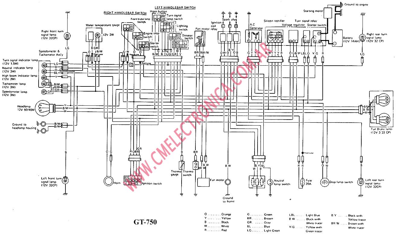 Suzuki Gt750 Wiring Diagram on 2001 suzuki motorcycle 125 wiring diagram