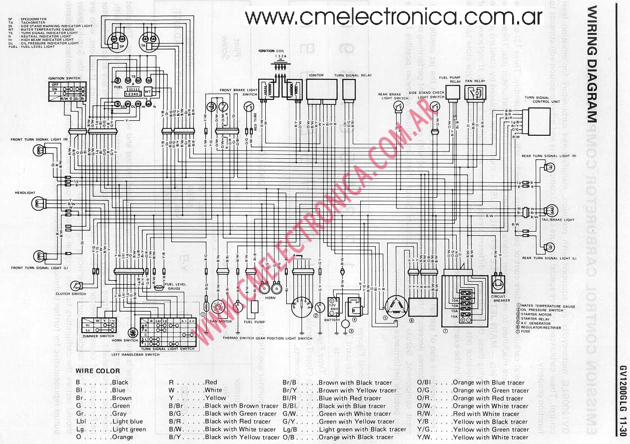 Suzuki Madura V on 02 Honda Shadow 750 Wiring Diagram