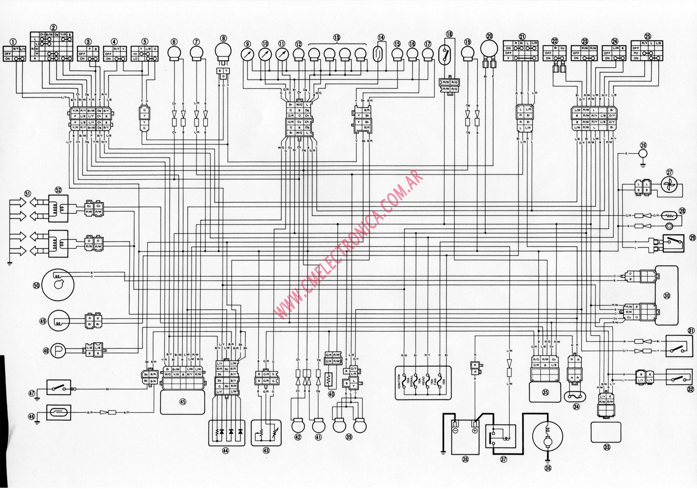 Diagram  1994 Yamaha Fzr 600 Wiring Diagram Wiring