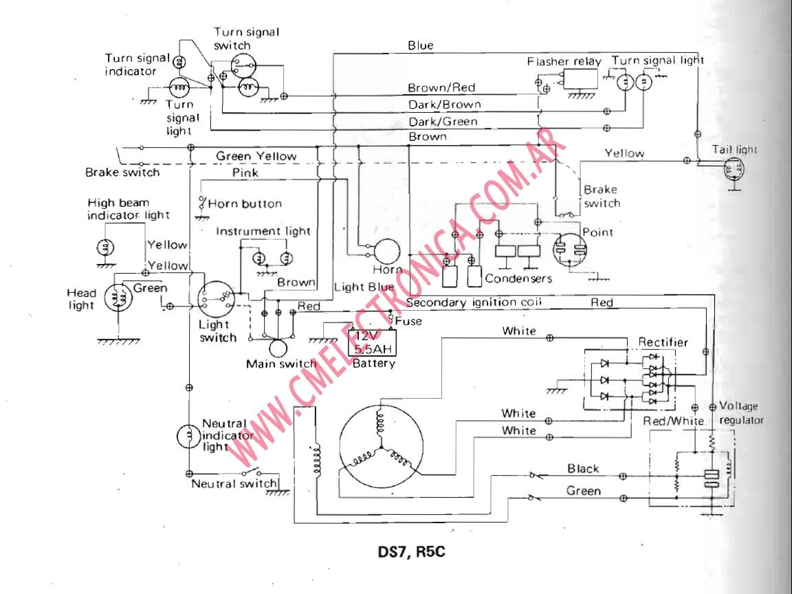 Yamaha yfm xp warrior atv wiring diagram and color code