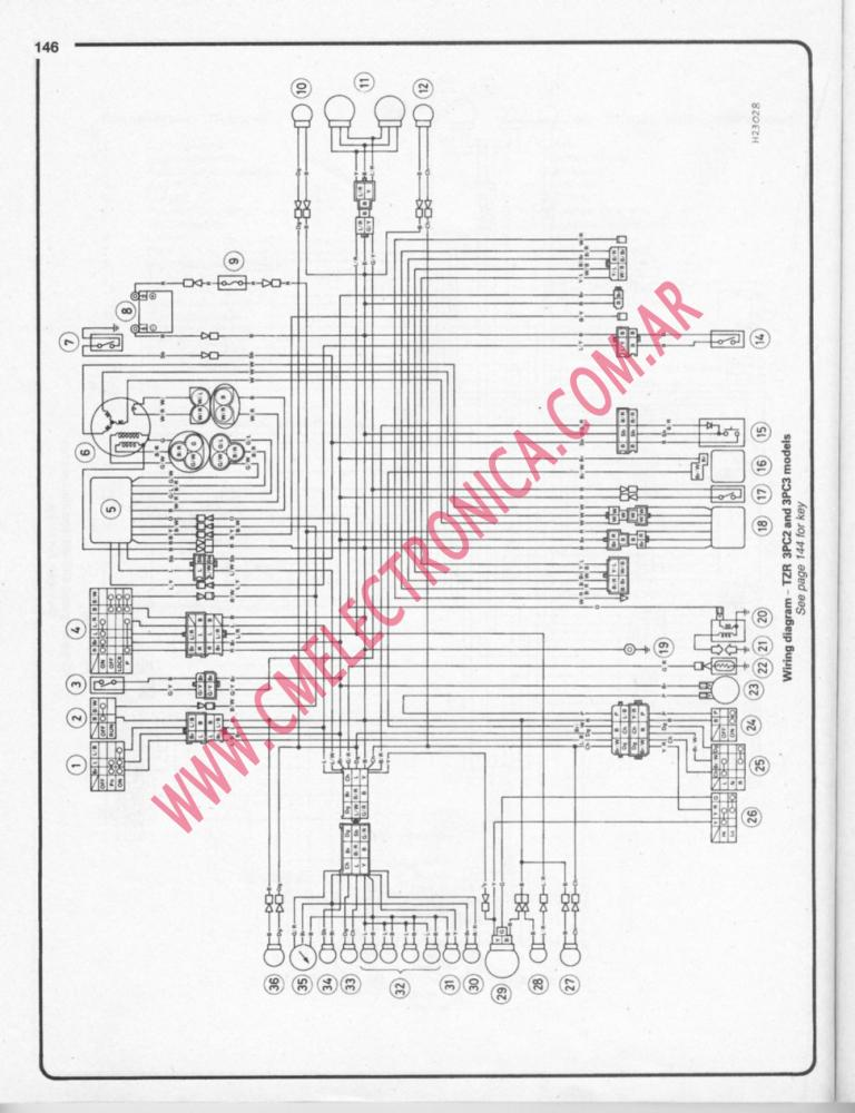 yamaha tzr125 dt125 sm haynes yamaha tzr 125 wiring diagramyamaha wiring diagram and schematics yamaha ct175 wiring diagram at nearapp.co