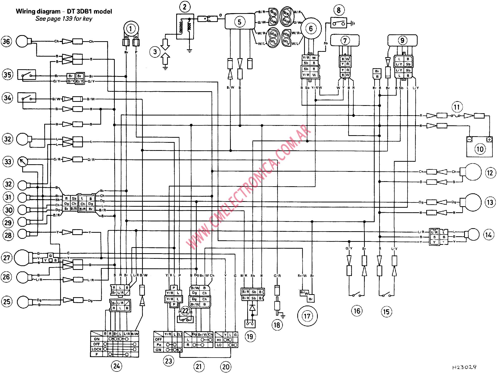 1980 Xs650 Wiring Diagram Layout Diagrams 81 Suzuki 650 1979 Yamaha Gt80 Xt350 Simplified Problems