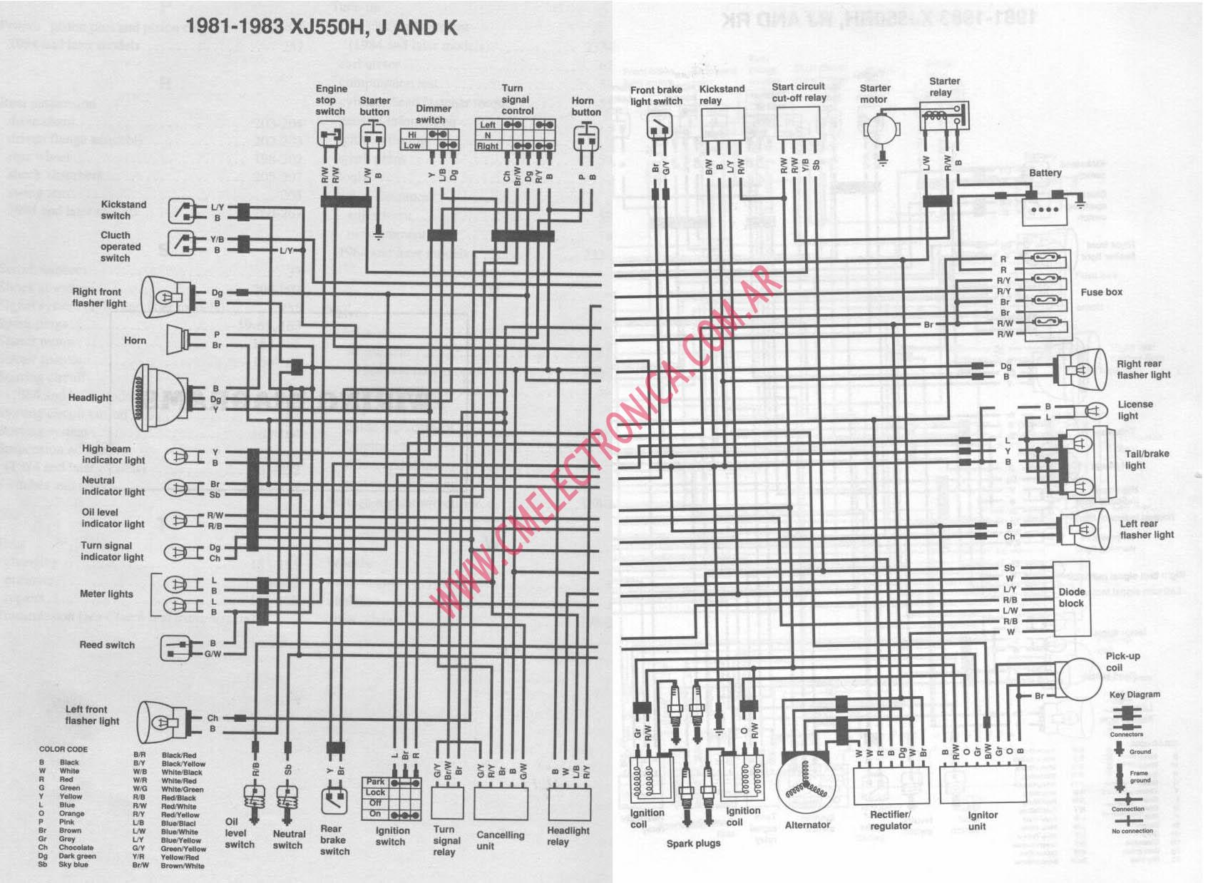 1980 Yamaha Xs650 Wiring Diagram Will Be A Thing 1978 650 Special Xj650 Maxim Get Free 1975