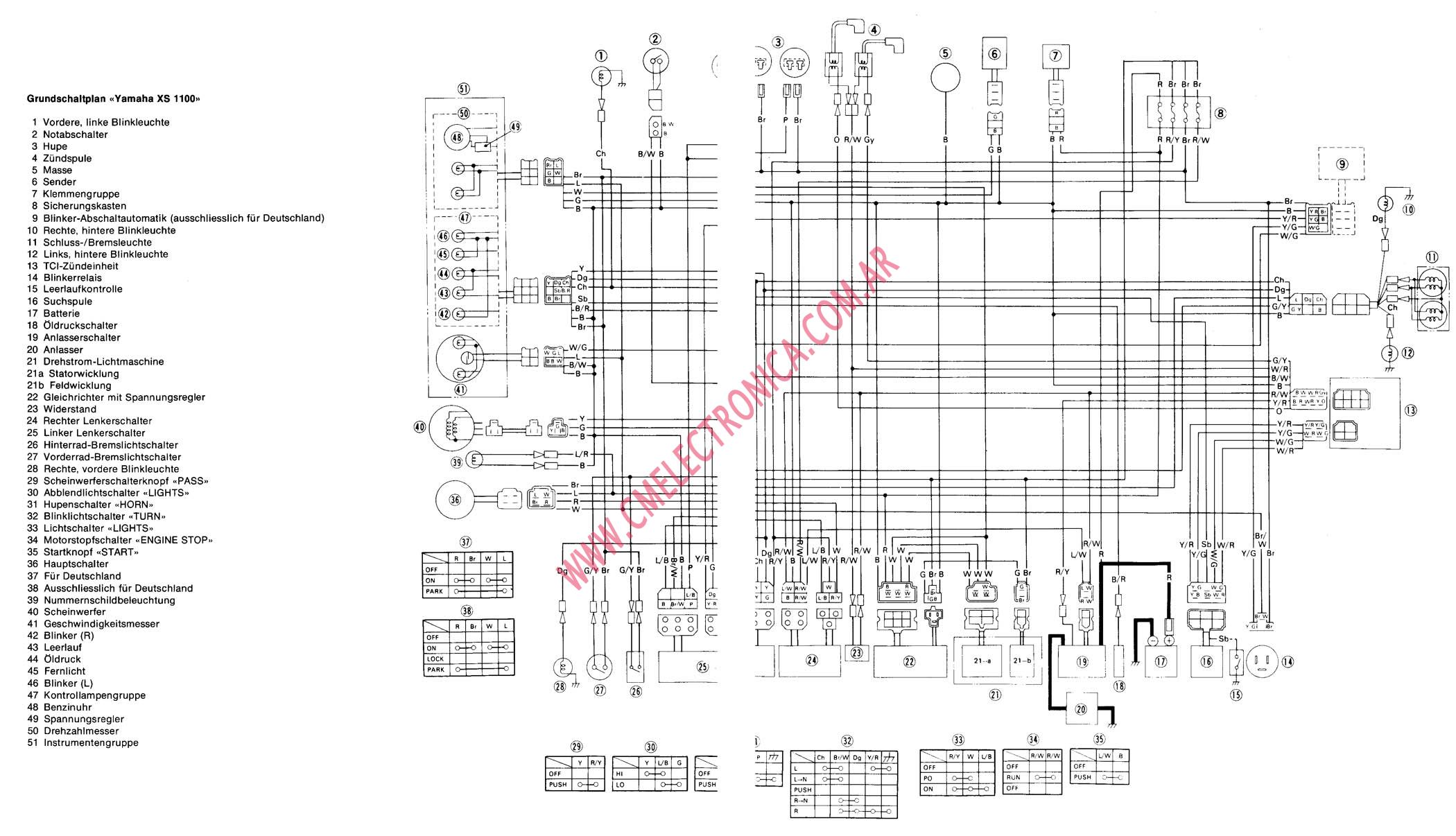 81 xs650 wiring diagram  81  free engine image for user
