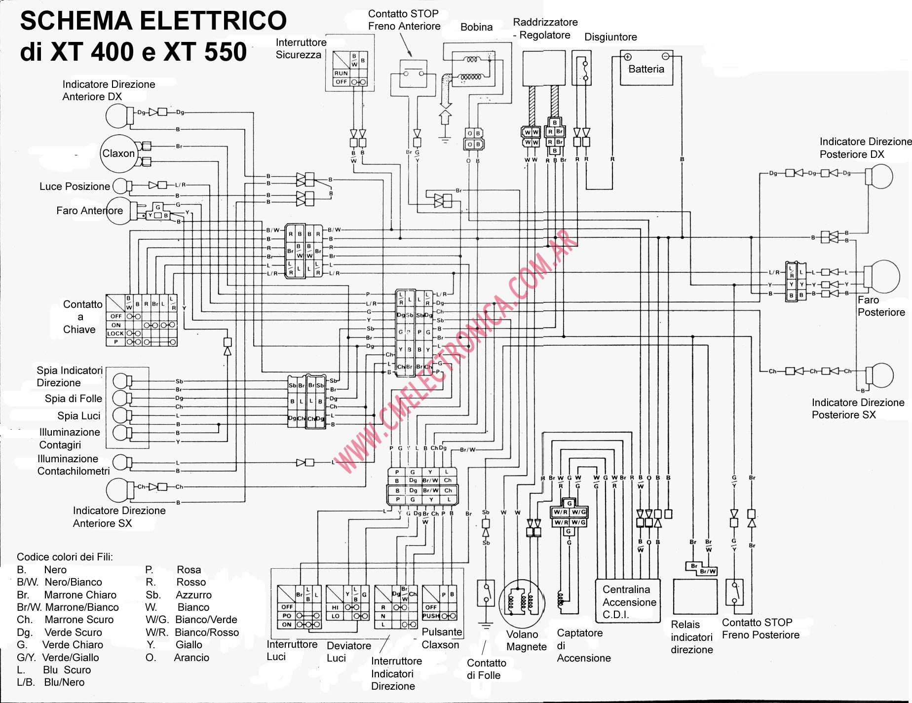 yamaha xt 550 wiring diagram circuit diagram symbols u2022 rh veturecapitaltrust co