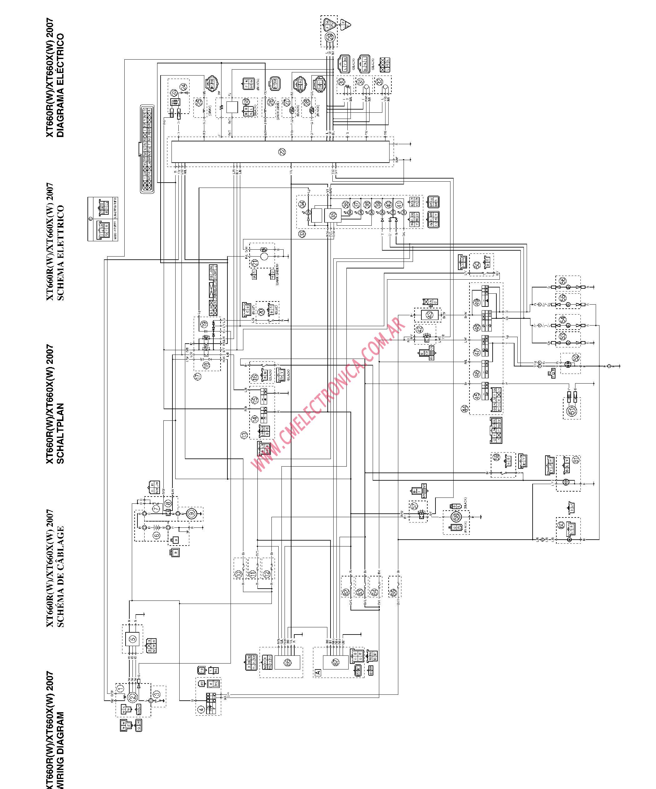 Yamaha 660 Grizzly Cdi Wiring Diagram Diagrams Rhino 700 2003 Raptor Auto 600 Carburetor